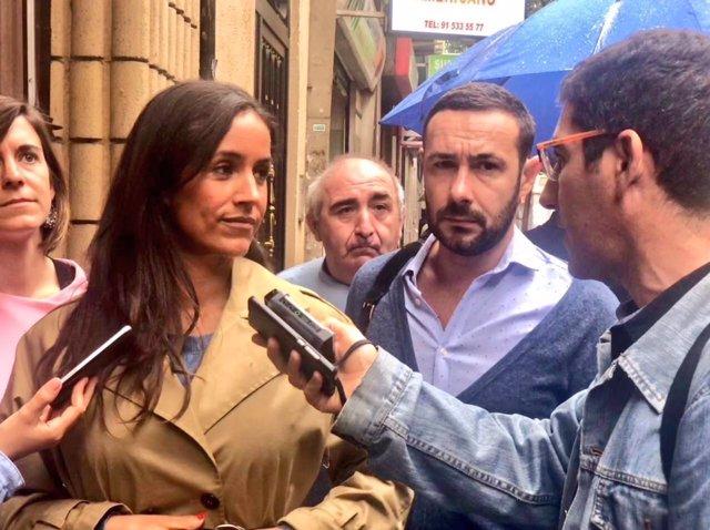 La portavoz de Cs en el Ayuntamiento de Madrid, Begoña Villacís