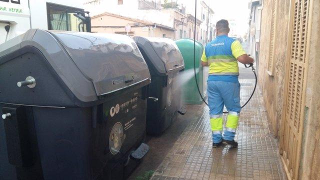 Limpieza de las calles de Son Espanyolet