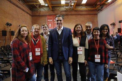 El PSOE ratifica la candidatura de Armengol para revalidar la presidencia de la Baleares en las próximas elecciones