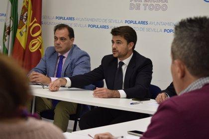 """PP propone """"un plan de modernización"""" del sector del taxi en Sevilla y muestra """"su apoyo al sector"""""""