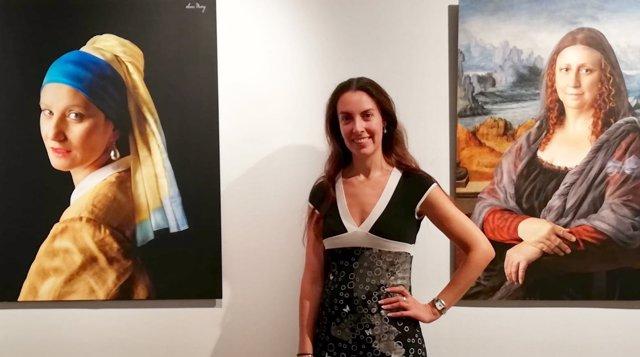 La artista Sonia Muñoz