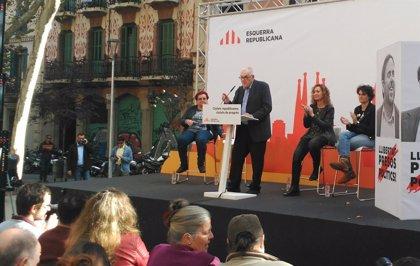"""Maragall (ERC) quiere una """"candidatura de ciudad, no de partido"""" para Barcelona"""