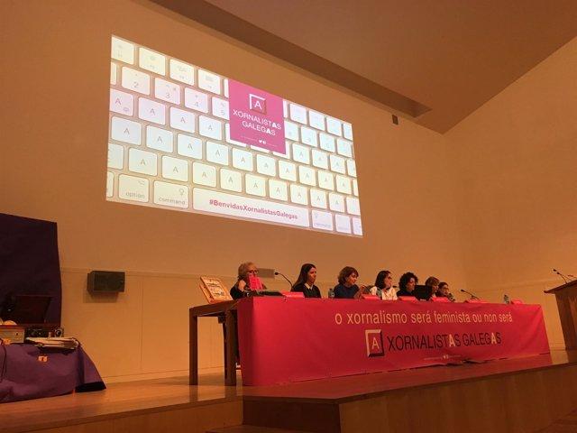 Presentación de Xornalistas Galegas