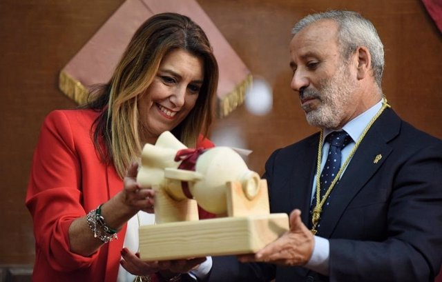Susana Díaz, en Vera (Almería)