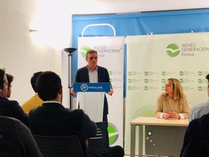 """El presidente del PP de Ibiza asegura que los ibicencos quieren un cambio """"que sólo el PP garantiza"""""""
