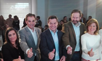 """Moreno (PP-A) promete 600.000 empleos """"en cuatro años"""" con una """"bajada masiva de impuestos"""""""