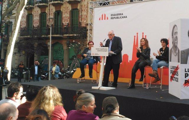El Candidat D'ERC A l'Alcaldia De Barcelona, Ernest Maragall