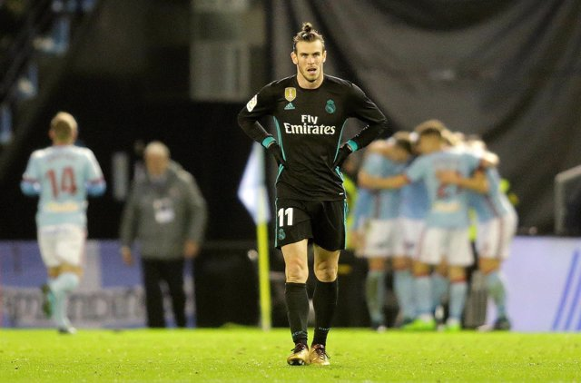 Bale en un Celta-Real Madrid