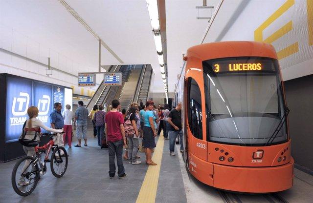 Estación De Luceros Del TRAM