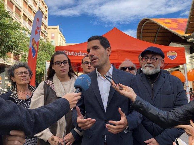 El diputat de Cs al Parlament de Catalunya Nacho Martín Blanco