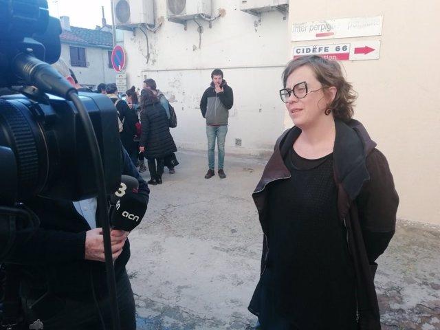 La regidor de la CUP-Capgirem a l'Ajuntament de Barcelona Eulàlia Reguant