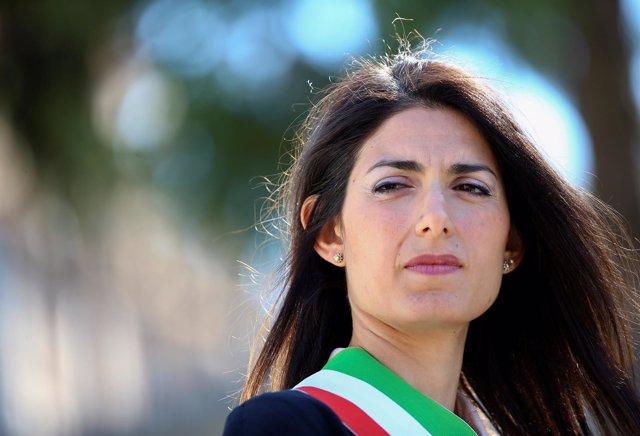 La alcaldesa de Roma, Virginia Raggi