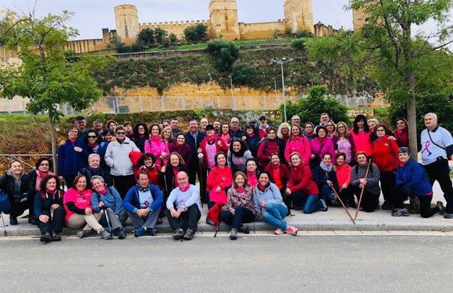 Marcha de las 'Chicas Rosas'