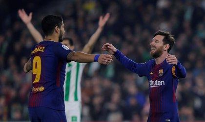 Messi vuelve en el mejor momento de Suárez