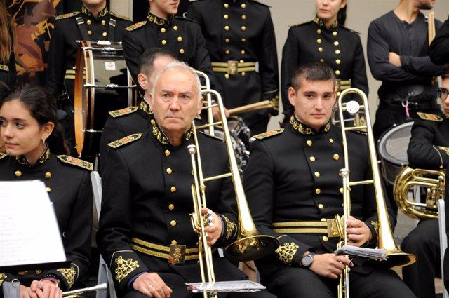 Concierto de música durante la Feria de los Municipios