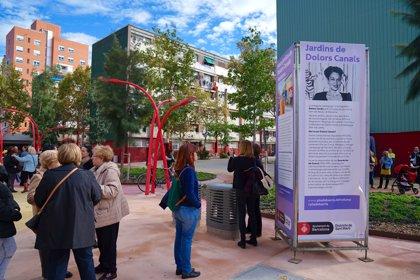 El barri del Besòs i el Maresme de Barcelona estrena els jardins públics Dolors Canals