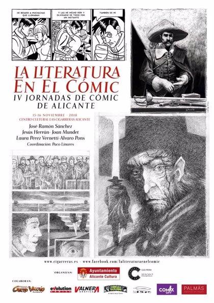 Autores y dibujantes analizan esta semana en Alicante la mezcla de lenguajes entre literatura y cómic