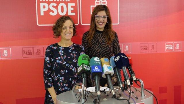 Gloria Rojas y Sabrina Moh