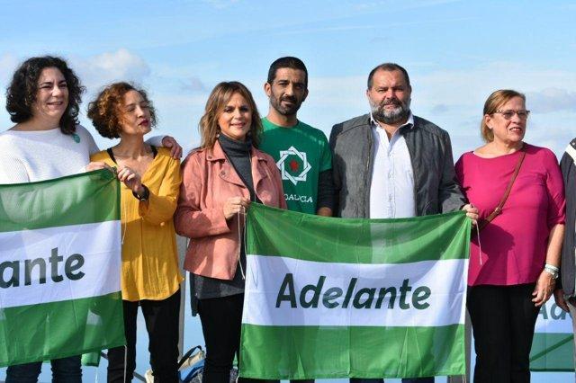 Candidatura de Adelante Andalucía por Huelva