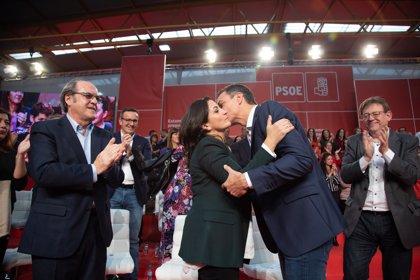 """Andreu, proclamada candidata PSOE a la presidencia regional, apuesta """"por gobernar La Rioja para todos los riojanos"""""""