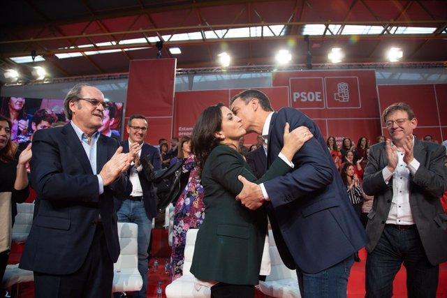 Concha Andreu y Pedro Sánchez