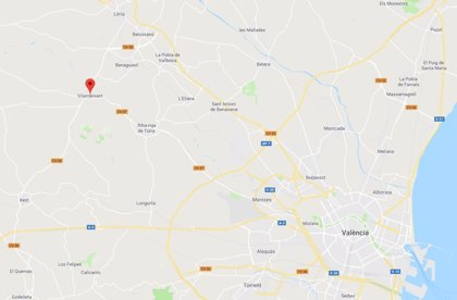 Un niño de 8 años resulta herido con una fractura en la pierna tras ser atropellado en Vilamarxant