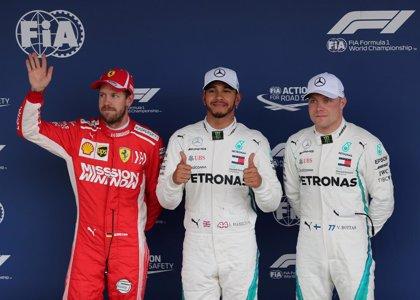 Hamilton no se cansa de poles y Sainz y Alonso sufren en Brasil