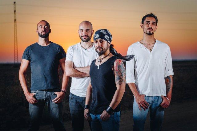 El grupo de rock español Gritando en silencio