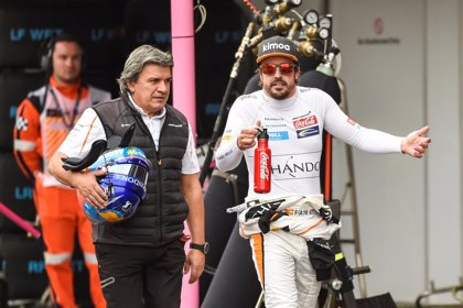 "Alonso: ""Vemos cada fin de semana más o menos lo mismo"""