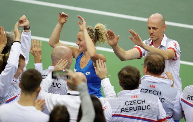 República Checa, a una victoria de reconquistar la Copa Federación