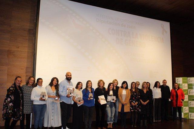 Entrega de premios del Festival de Cortos contra la violencia de género de Jaén