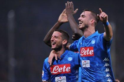 El Nápoles mete presión a la Juve con fortuna