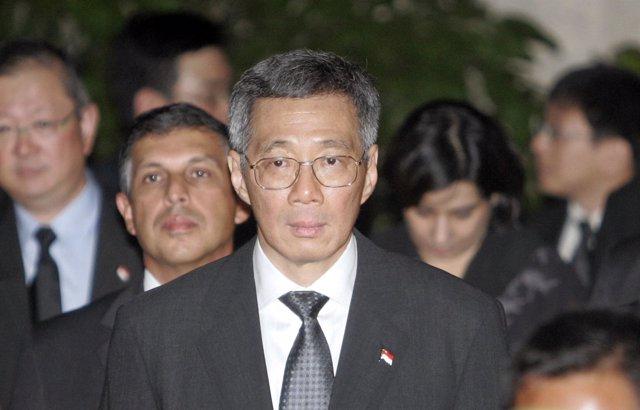 El primer ministro de Singapur Lee Hsien Loong