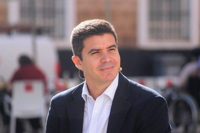 Sergio Romero, parlamentario andaluza de Ciudadanos por la provincia de Cádiz