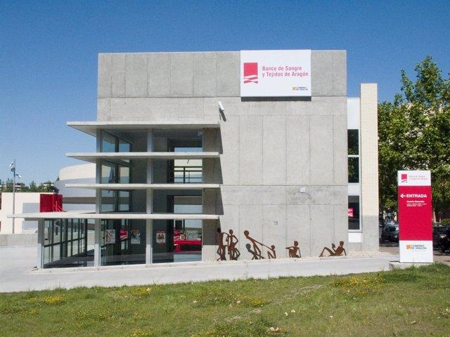 Sede del Banco de Sangre y Tejidos de Aragón.