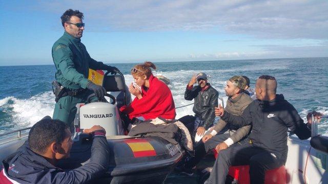 Rescatados por la Guardia Civil