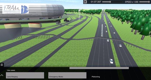 Simulación del proyecto 5G-CARMEN