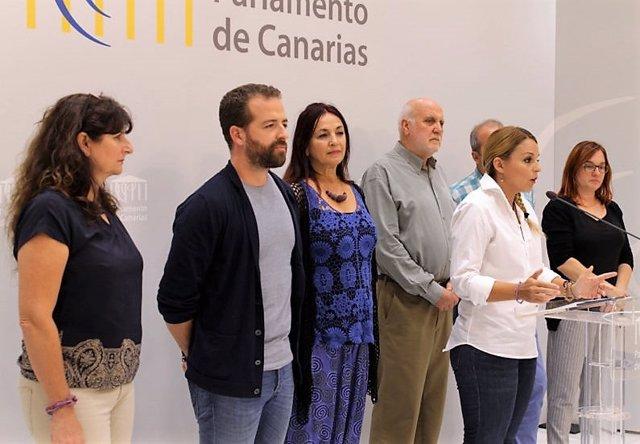 Representantes de Podemos