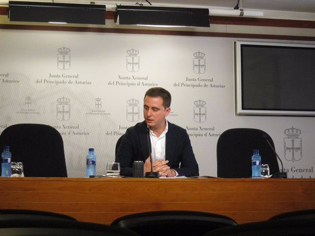 El diputado del PP David González Medina