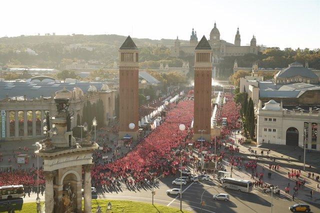 Carrera de la Mujer Central Lechera Asturiana de Barcelona