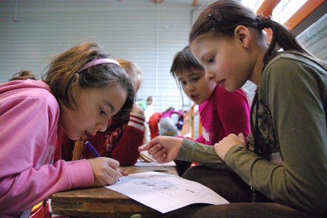 Niños aldeas infantiles Asturias