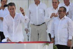 La paz colombiana recibe un galardón internacional de Derechos Humanos