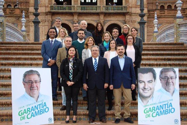 """[Sevilla] Fotos Y Np Virginia Pérez: """"Con La Candidatura Del Pp, El 2D Será El P"""