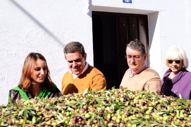 Andrea Levy, José Ortiz, Antonio Sanz y Teófila Martínez