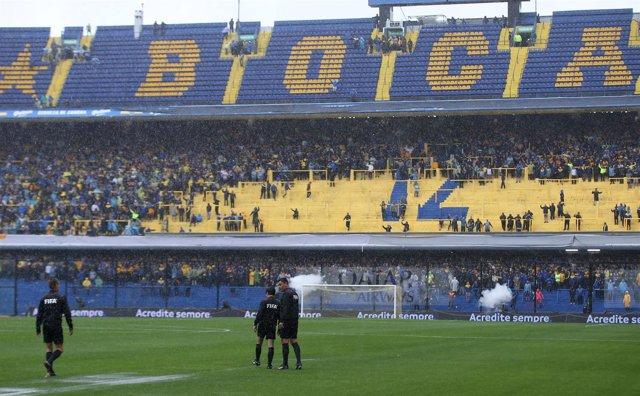 Soccer Football - Copa Libertadores Final - First Leg - Boca Juniors v River Pla