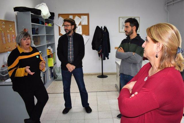 Rossi visita Proyecto Hombre