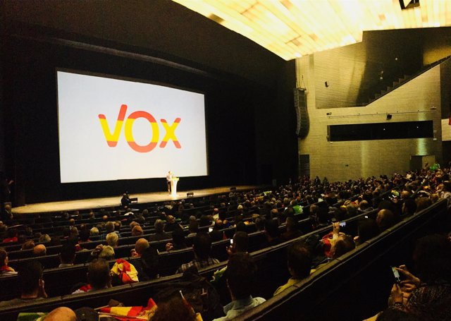 Acto de VOX en Sevilla