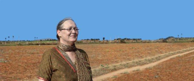 Anna Ferrer, presidenta de la Fundación Vicente Ferrer