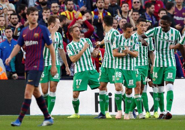 Barcelona Real Betis Sergi Roberto