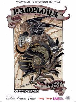 Cartel de la 'Pamplona Tatoo Expo'